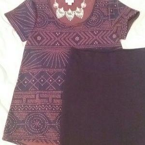 Lularoe outfit xs EUC